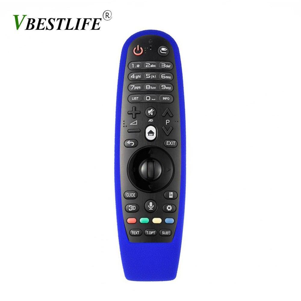 VBESTLIFE Universel Anti-chute Antichoc De Protection Housse Etui Silicone souple pour LG AN-MR600 TV Télécommande