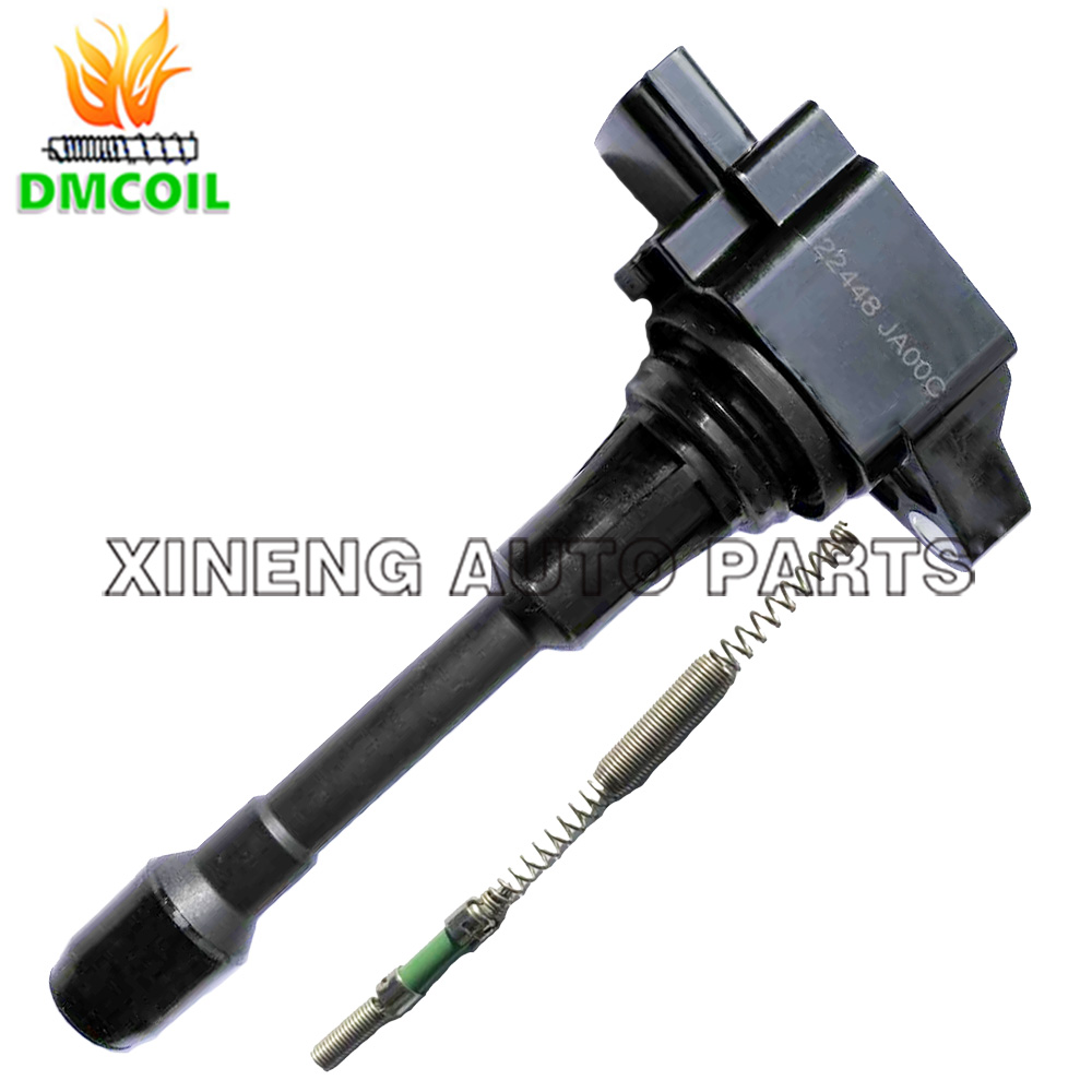 Image 3 - 4 PCS IGNITION COIL BOOTS WITH RESISTANCE CONNECT PLUG FOR INFINITI FX50 NISSAN JUKE MICRA IV QASHQAI X TRAIL RENAULT 22448JA00C-in Ignition Coil from Automobiles & Motorcycles