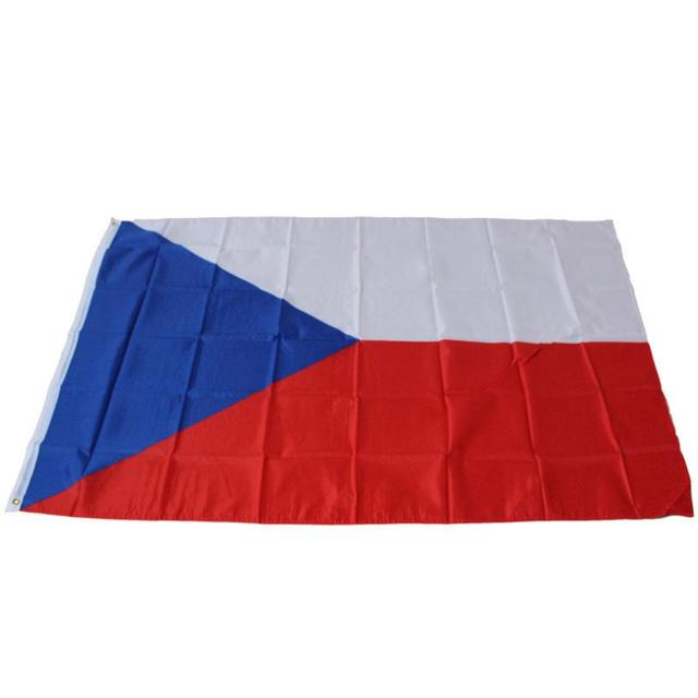 2016 3'x5' CZECH REPUBLIC FLAG Polyester National Large flags decoration
