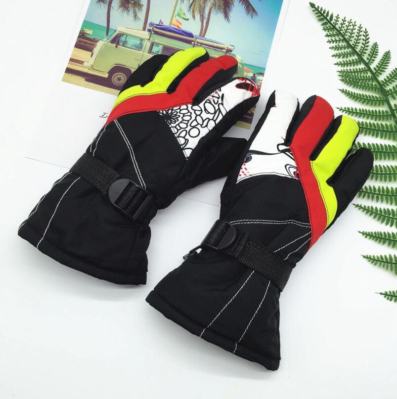 Gloves & Mittens Glorious Baby Boy Winter Warm Gloves Boys Ski Outdoor Climbing Gloves For Kids 7-11y,children Mittens Boys Windproof Waterproof Mittens Boys' Baby Clothing