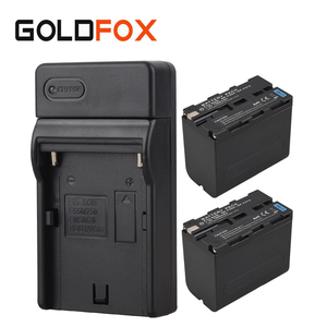 2x 7800mAh NP F960 NP F970 Digital Li-ion Battery + USB Charger For Sony NP-F960 NP-F970 Video Camera Replacement Batteries