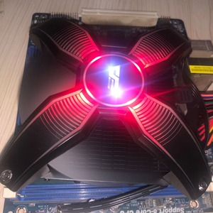 Image 3 - Darkflash愛国コンピュータケースcpuクーラーラジエーター 4 銅管プロセッサクーラーcpuクーラー用の冷却ファンAM2/AM3/AM4