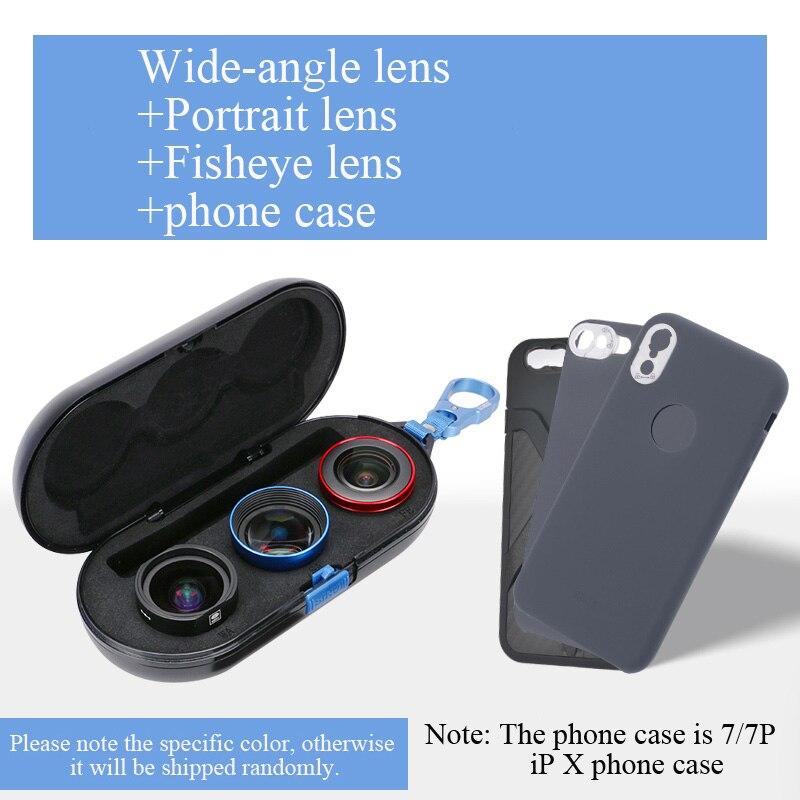 SIRUI lentille mobile Externe haute-définition REFLEX miroir set universal téléphone portable lentille Macro portrait objectif grand-angle lentille fisheye