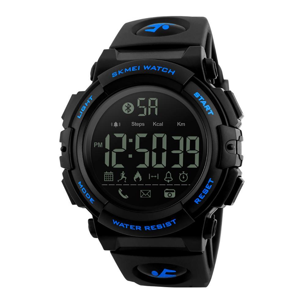 Bluetooth Waterproof 50m Mens Sports Digital Watches Smart Military Watch Pedometer Remote Electronics Watch Hot цены онлайн