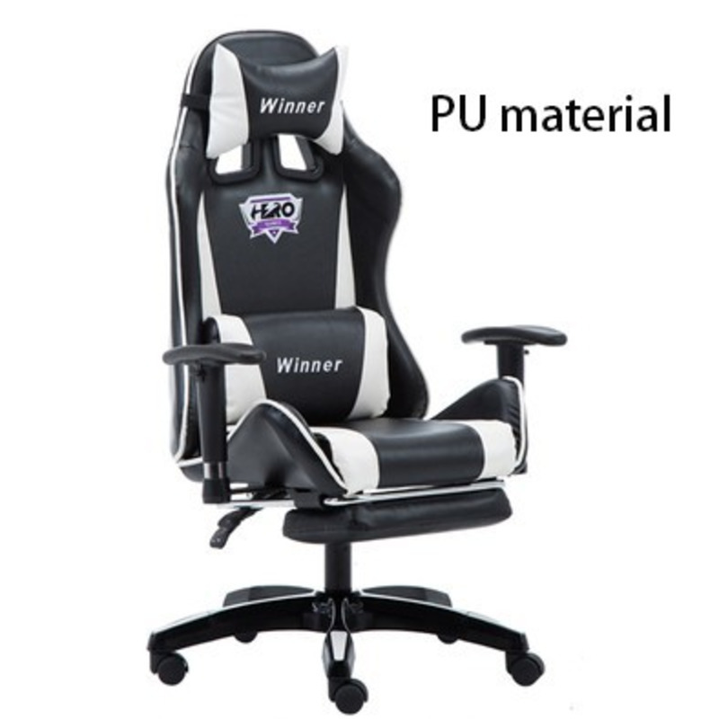 Luxury Quality Jh701 Boss Silla Gamer Live Synthetic Leather Chair Can Lie Ergonomics Wheel Massage Office Furniture Nylon Feet