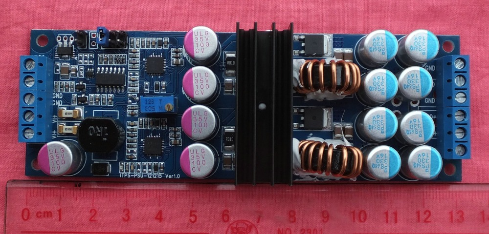 LTC3780 automatic lifting and pressing power supply vehicle radio power supply 12V20A240W ltc3780 dc dc automatic lifting and pressing solar energy vehicle voltage constant voltage constant current power supply module