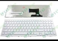 Oryginalna nowa Notebook klawiatura do laptopa Sony Vaio VPC EH VPCEH PCG 71911L PCG 71912L PCG 71913L 71914L 71811L 71811 M biały