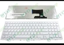 Оригинальная новая клавиатура для ноутбука Sony Vaio VPC EH VPCEH PCG 71911L PCG 71912L 71914L  71811L  71811M, белая