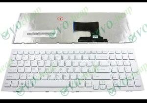 Image 1 - ของแท้ใหม่โน้ตบุ๊คแป้นพิมพ์สำหรับแล็ปท็อปสำหรับ Sony Vaio VPC EH VPCEH PCG 71911L PCG 71912L PCG 71913L   71914L   71811L   71811 M สีขาว