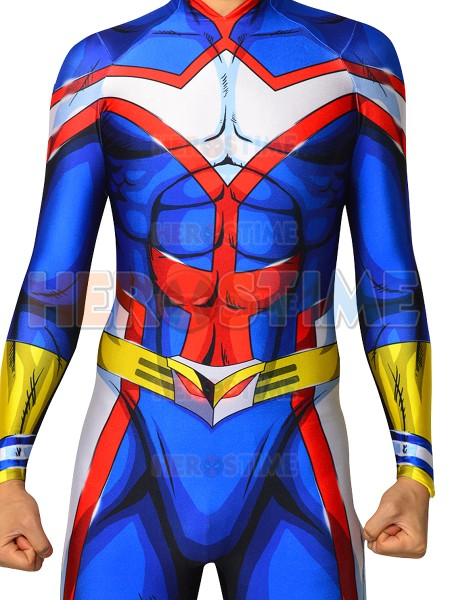 Top Quality All Might Cosplay Costume Muscle shade My Hero Academia Bodysuit For Man Toshinori Yagi Boku no Hero Academia Suit