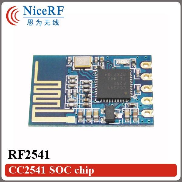 2 stks / partij RF2541 Embedded Laag stroomverbruik 2.4 GHz Uart 4.0 - Communicatie apparatuur