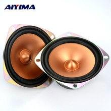 Altavoces de Rango Completo de Altavoces Tweeter Bala Doble Altavoz Magnético Portátil Accesorios 2 Unids 3 Pulgadas 4 Ohm 10 W