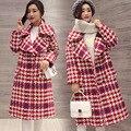 Novo revestimento das mulheres Outono Inverno Casaco jaqueta De Roupas de Maternidade trincheira outerwear Maternidade Grávida Maternidade casaco 16927