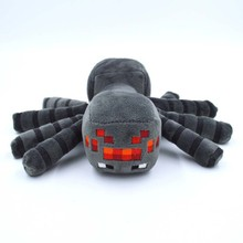 New Arrival Minecraft Plush Toys 16CM Gray Minecraft Spider Stuffed Plush Toys Kids Game Cartoon Toys