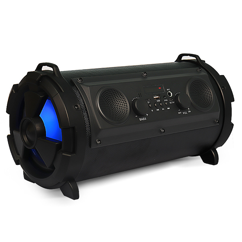 Hyleton Professional 15W 2000mAh Bluetooth Speaker Outdoor Portable Subwoofer with Mic Multifunctional Speaker for TV Smartphone