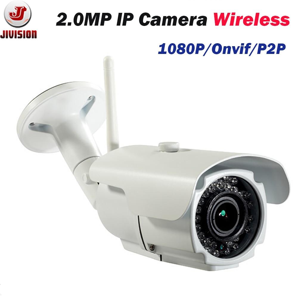 Varifocal 2mp Ip Camera 1080p Hd Cctv Outdoor Ip Cam Wireless Ir Weatherproof Infrared Onvif