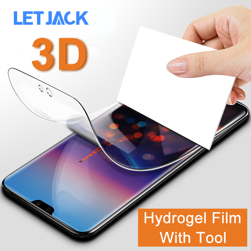 3D Full Protective Soft Hydrogel Film For Huawei P20 Pro P10 Lite P9 Plus Nova 3 3i 3E 2 2S Plus Screen Protector Cover No Glass