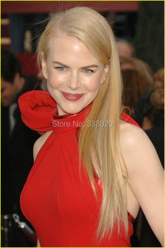 Nicole Kidman Red Halter Formal Dress Oscar Awards 2007 Red Carpet (8)
