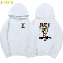 New Brand Sweatshirt Men's just do it Hoodies Men Hip Hop Fashion Fleece high quality Hoody Pullover Sportswear Clothing