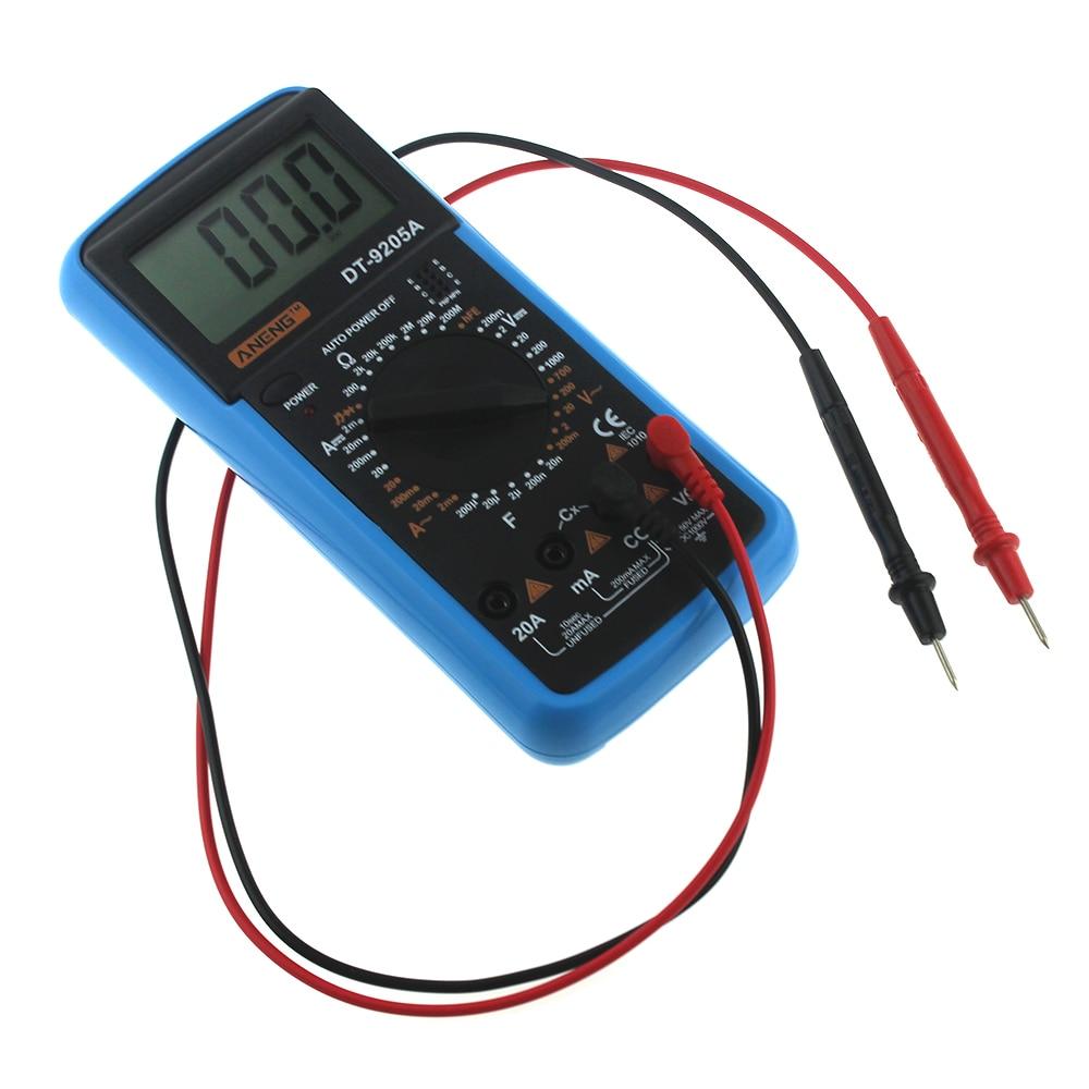 DT-182 Digital Mini Multimeter DC//AC Voltage Current Meter Handheld Pocket Voltmeter Ammeter Diode Triode Tester Multitester