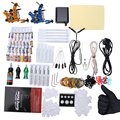 Solong Complete Tattoo Kit 29 Color Inks Power Supply 2 Top Machine Guns  Choosing The Power Cable Contact Machine and Power Box