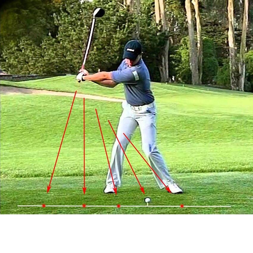 BEST Golf Swing Corrector Laser Plane Trainer Golf Swing ...