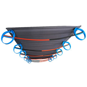 Image 5 - سرير قابل للطي جديد من سبائك الألومنيوم فائق الخفة 1.6 كجم BRS سرير قابل للنقل للتخييم في الهواء الطلق