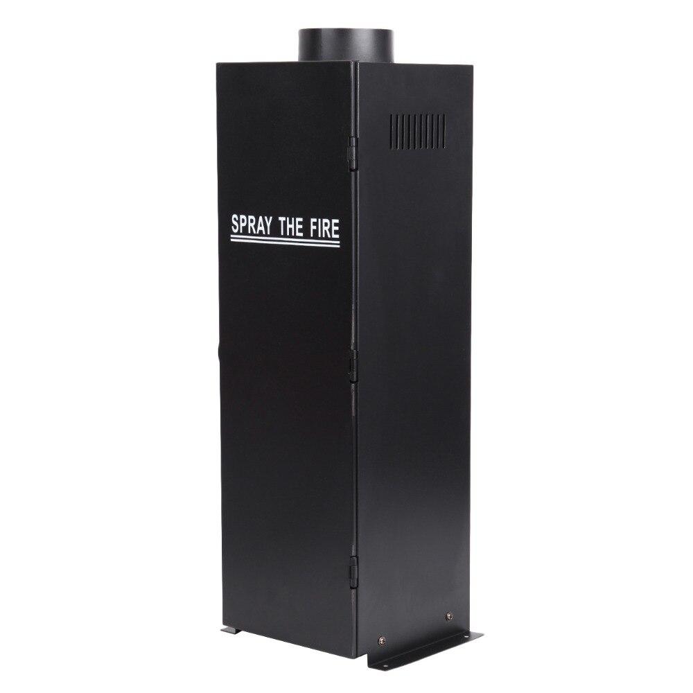 (Navire de l'ue) 2 PC 200 W DMX effet de pulvérisation de feu lance-flammes DJ scène projecteur Machine partie - 3