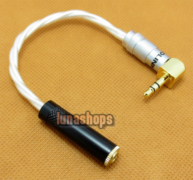 Acorlink 3.5mm L Shape 90 Degree Male To Female Earphone Port Protector Adapter Cable