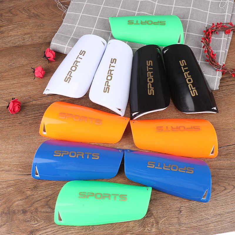1 çift futbol tekmelikler pedleri çocuk futbolu koruyucu yastık bacak kollu futbol koruyucu yastık çocuk diz desteği çorap