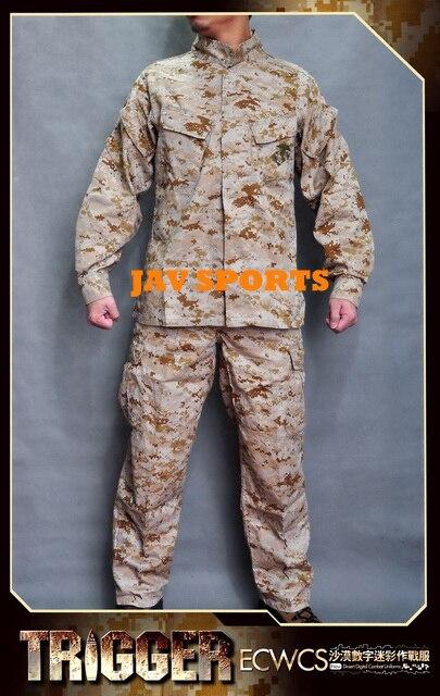 Все доля триггера морской пехоты сша MCCUU Marpat цифровой пустыня военный камуфляж костюм + бесплатная доставка ( SKU12050232 )
