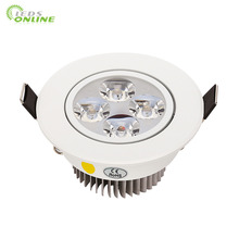 10pcs/lot 9w 12w 15w cool white warm dimmable LED Recessed Downlight AC110V 220V  for home bathroom kitch store lights