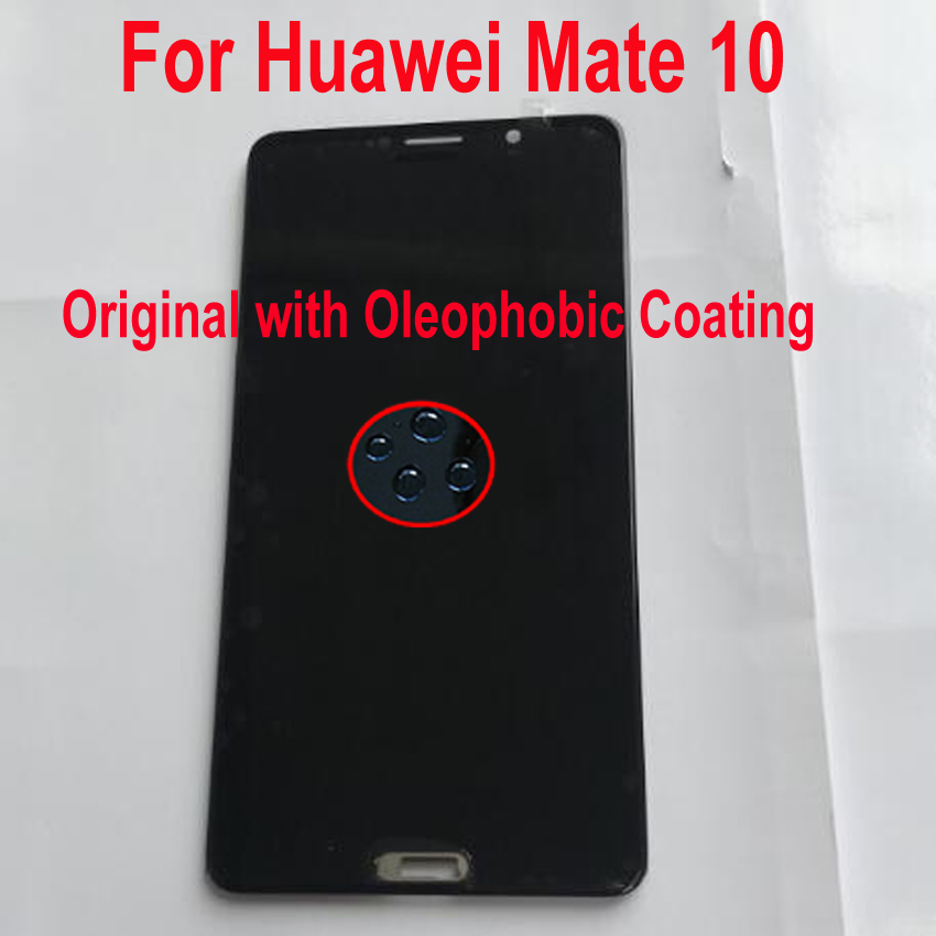 100% Original Tested Working For Huawei Mate 10 ALP L09 ALP L29 LCD Display Touch Screen Digitizer Assembly Sensor + Frame-in Mobile Phone LCD Screens from Cellphones & Telecommunications