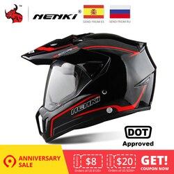 NENKI черный мотоциклетный шлем мотоциклетный полный шлем Мотокросс мужской Приключения Горные DH гонки Casco Мото шлем точка