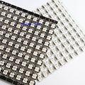 100pcs ws2812 individually addressable rgb full color ws2812b led emitter chip with white/black heatsink dc 5v free shipping