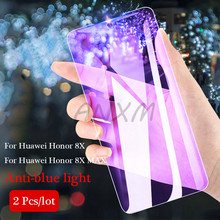 2Pcs/lot 9H Tempered Glass for Huawei Honor 8X MAX Screen Protector Full Cover For Protective Film