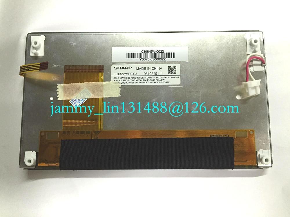 "LQ065Y5DG03 Original 6.5/"" LCD Display for Car GPS Navigation System"