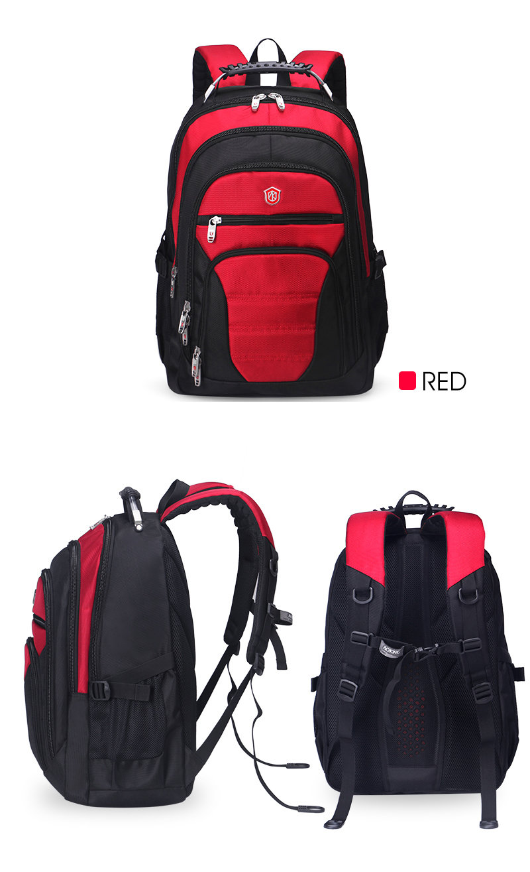 Aoking Original Brand New Patent Design Massage Air Cushion1 Men's Laptop Backpack Men Large Capacity Nylon Comfort Backpacks 18