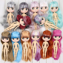 ICY Nude Factory Middie Blyth doll No.5 Frosted skin 20cm 1/8 joint body doll,Hand gesture as Gift Neo