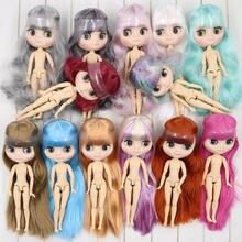 Icy nude fábrica middie blyth boneca no.5 geada pele 20cm 1/8 corpo comum boneca, mão gesto como dom neo