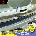 Estilo do carro Adesivo Da Tampa da Guarnição de aço inoxidável Porta Traseira Porta Traseira Para Ford Kuga 2013-2017 Exterior porta traseira Decoração guarnição