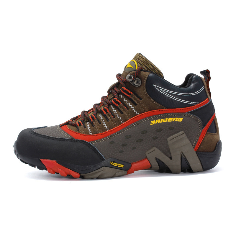 Eu35 46 Outdoor Climbing Hiking Lovers Male Female Wear resisting Shoes Sports Sneaker Non slip Genuine