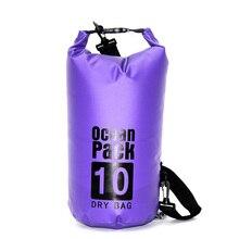 2L/5L/10L/15L/20L Ultralight Rafting Dry Waterproof Travel Drifting Bag for Women Outdoor Climbing River Trekking Swimming Bag