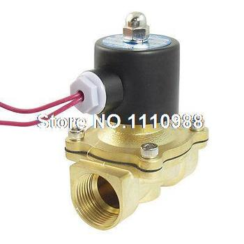 "AC 110V 1""PT 2 Way Direct Action Air Gas Pneumatic Electric Solenoid Valve"