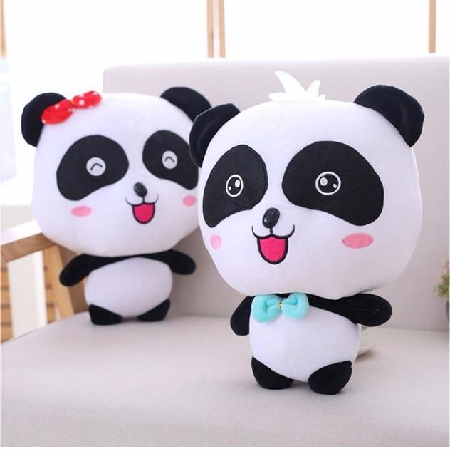 Babybus Cute Panda Plush Toys Hobbies Cartoon Panda Stuffed Toy