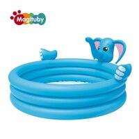 152センチ象環境に優しいpvcファッション子供赤ちゃんインフレータブルプレイ水泳プール泳ぐボート水アクセサリーs1033