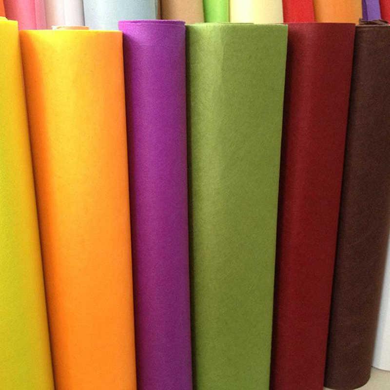 Высокое качество смешивания цветов нетканые фетр ткань 1 мм Толщина полиэстер войлочная ткань DIY комплект для материал для изготовления кукол