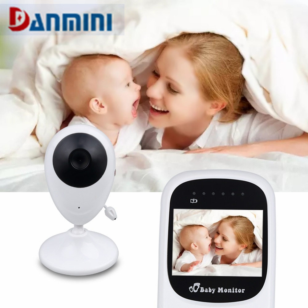 Danmini SP880 Baby Monitor Night Vision Security Camera Newborn Wireless Video Radio Baby Camera Monitor Home