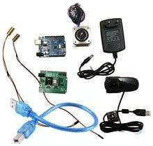 Reprap ciclop 3dスキャナエレクトロニクスキット、モーター、レーザー、unoコントローラ、ツムスキャン拡張ボード、プラグ、カメラフルキット