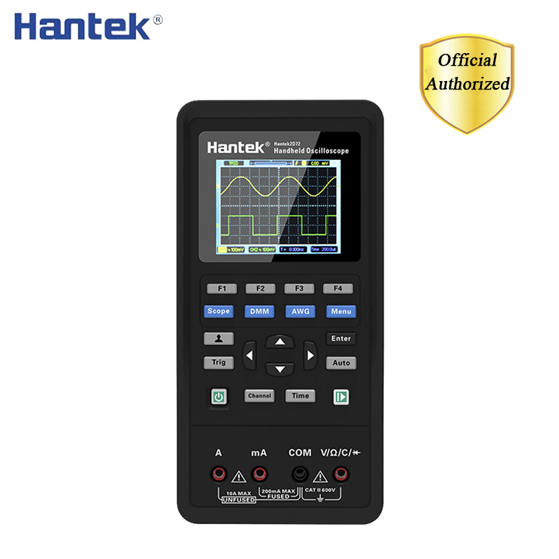 <font><b>Hantek</b></font> 3in1 Digital <font><b>Oscilloscope</b></font>+Waveform Generator+Multimeter USB Portable 2 Channels <font><b>40mhz</b></font> 70mhz Multifunction Test Meter image